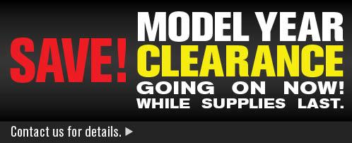 2014 Model Year Clearance